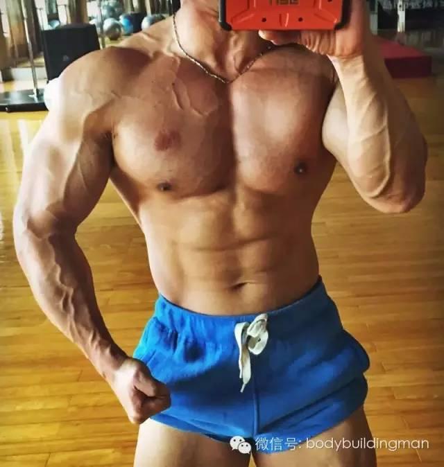 散打选手变肌肉型男,这个山东汉子帅呆
