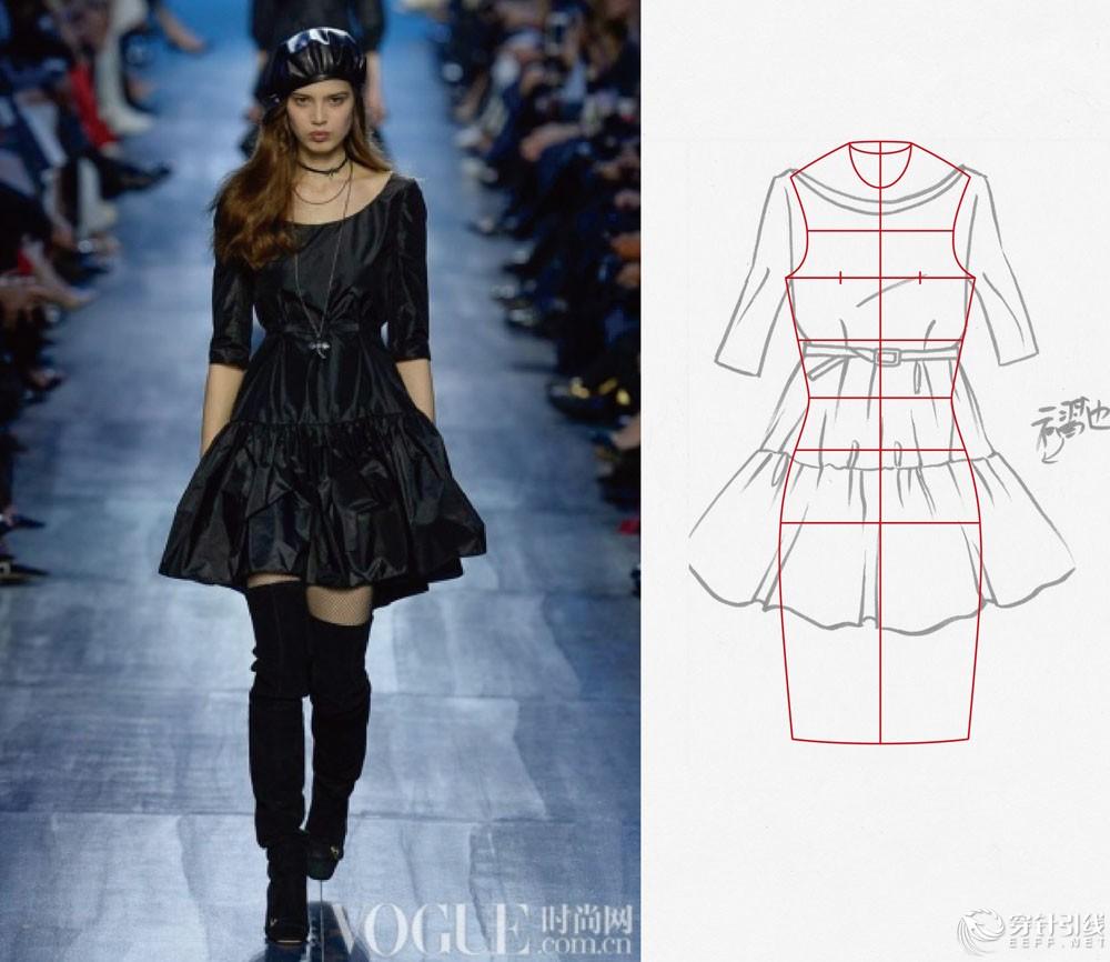 中我们体会单件服装的细节的同时加以总结系列化的特点,-服装款式