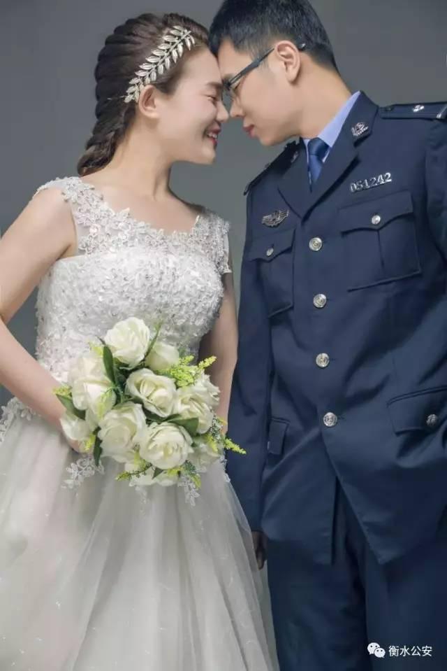 衡水|当警服邂逅婚纱!