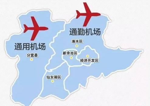 还有6天 江西这个机场就要通航,未来这些地方都要建机场,有你家乡吗图片