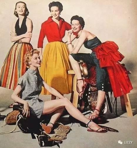 最优雅迷人的女人,都活在美好的黄金 50 年代