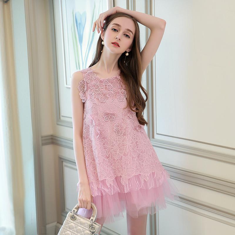 浪漫度假风连衣裙,小资范名媛感轻松穿出来!