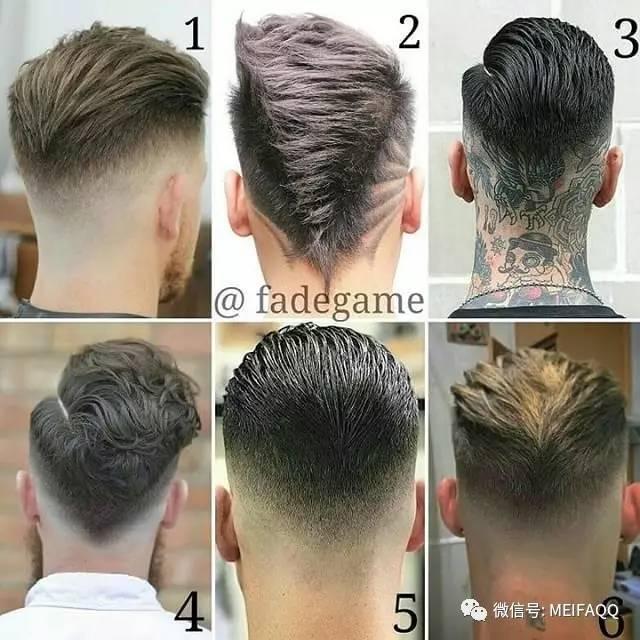 男生短发2017潮流发型图片