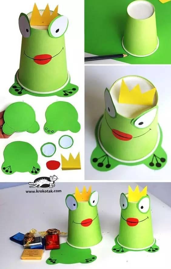 4款最接地气的六一手工制作夏天里的小青蛙
