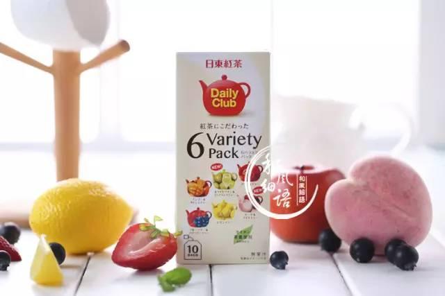 日东红茶 6种水果味茶包