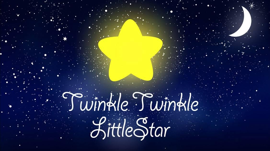 英文童谣|twinkle, twinkle, little star