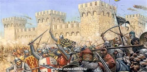 十字军东征的人员装备、技术装备及战术