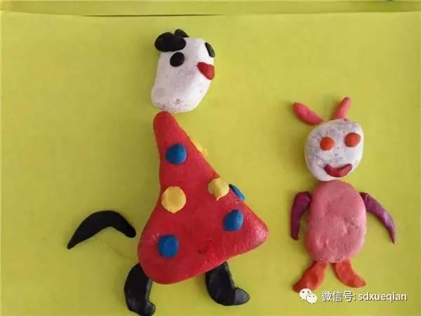 潍坊市临朐县实验幼儿园东郡分园 创意石头画