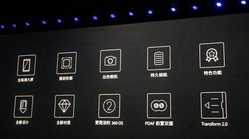360手机N5s发布,前置双摄支持相位对焦  科技资讯 第2张
