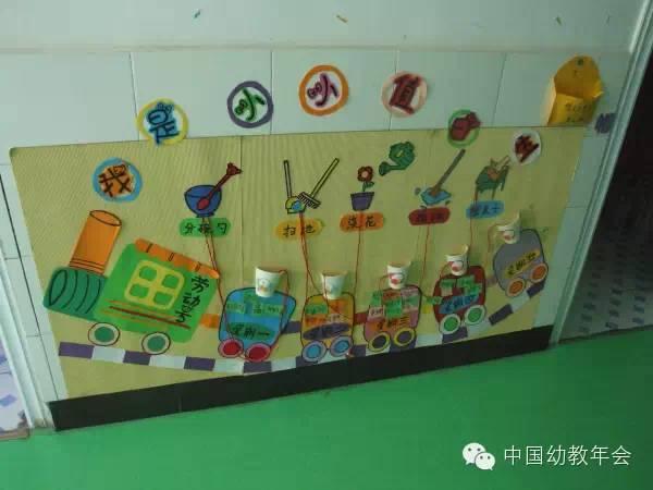 六一环创 幼儿园特色走廊布置
