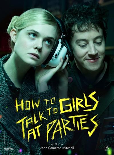 《派对上如何搭讪女孩》:朋克爱情电影相当带感