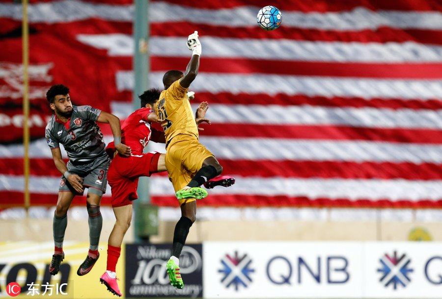 2017年亚冠联赛1/8决赛首回合:波斯波利0-0莱赫维亚