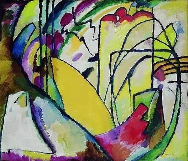 康定斯基作品-抽象艺术为什么会流行