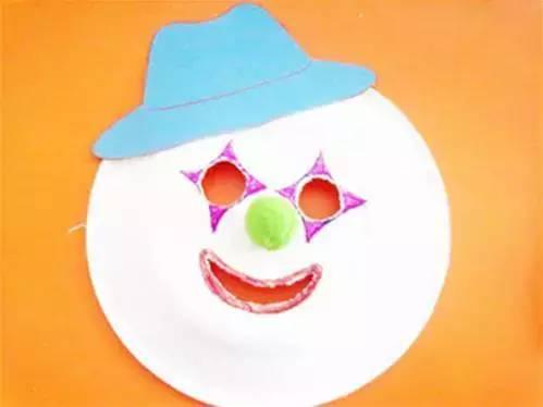 儿童节 小丑面具 手工制作大全,简单易学