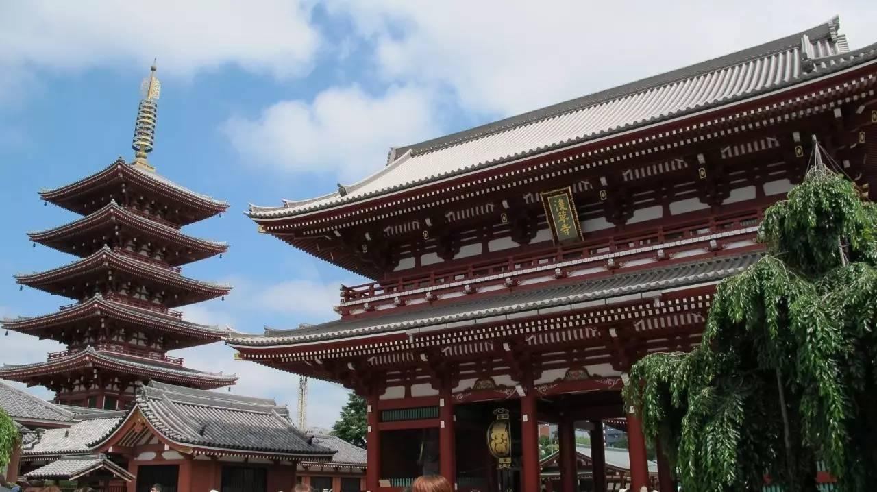 龙族旅游地图――浅草寺