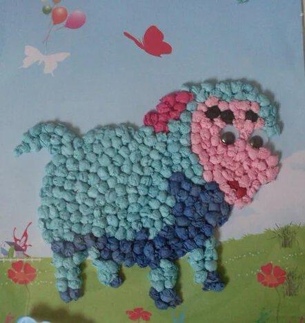 实用干货 幼儿园创意揉纸画大全