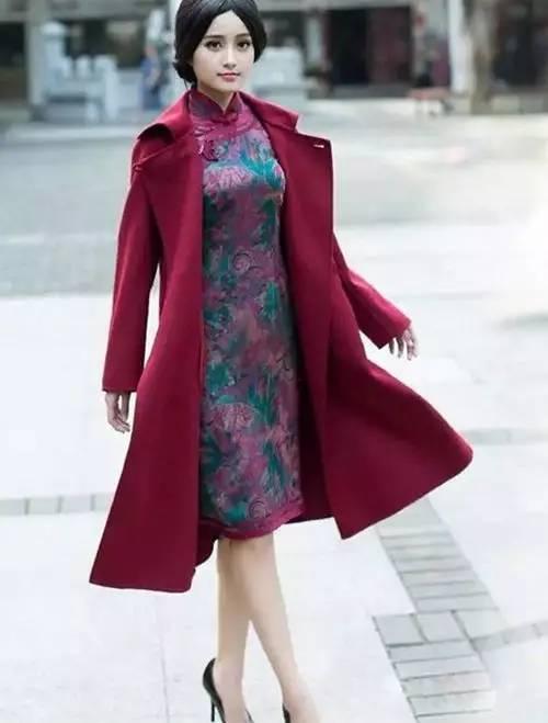 旗袍搭配什么外套 分分钟穿出旗袍女神范