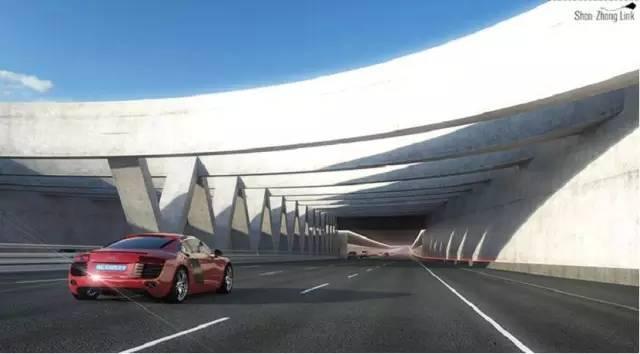 港珠澳大桥即将于今年通车-拱北将新增一条高速直通深中通道,珠中