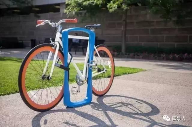 创意自行车停车位,厉害了word哥