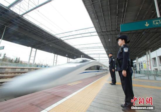 2020年高铁料覆盖中国80 以上百万人口城市 图