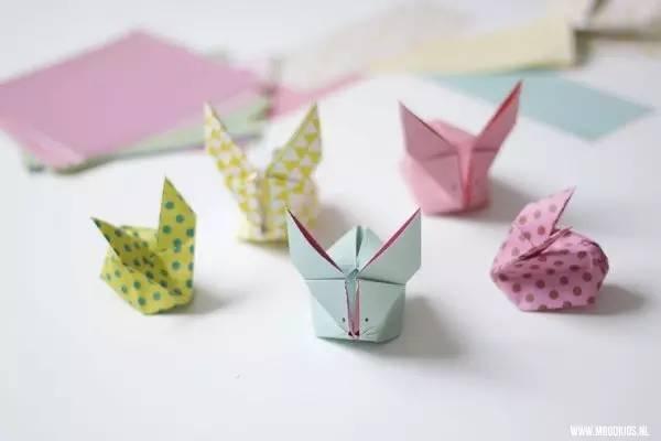 幼儿园手工折纸:十几款经典折纸教程,兔子礼盒等