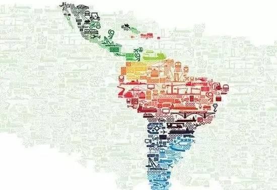拉丁美洲各国经济总量_拉丁美洲各国国旗