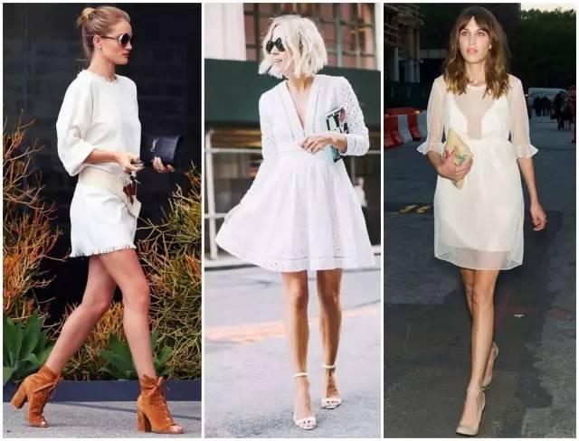 刘亦菲赵丽颖的小白裙太好看,堪称夏天搭配硬货NO.1