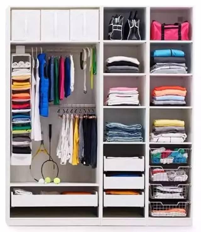小衣柜内部结构图,你需要知道