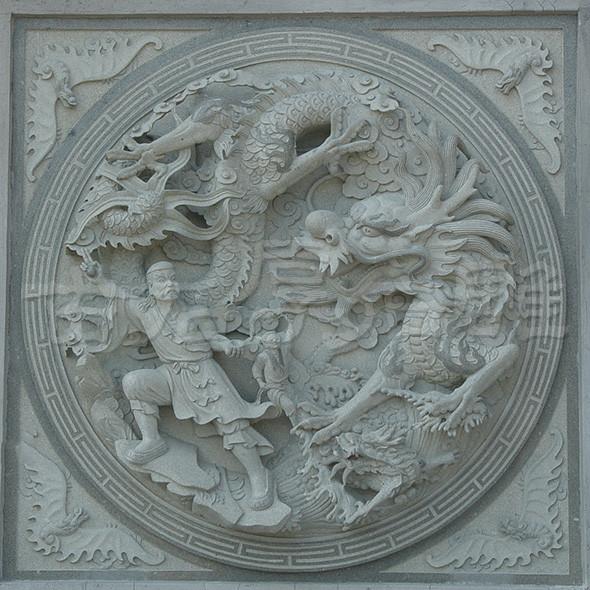 石材浮雕的文化艺术表现形式和创作手法 古石厚