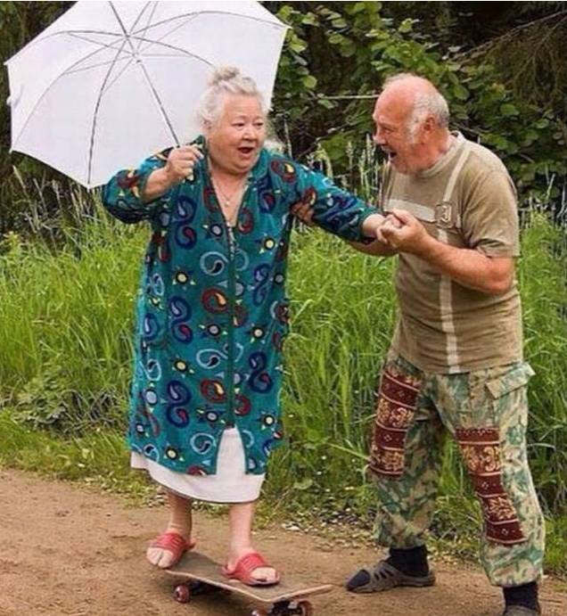 一辈子很长,要和有趣的人在一起!