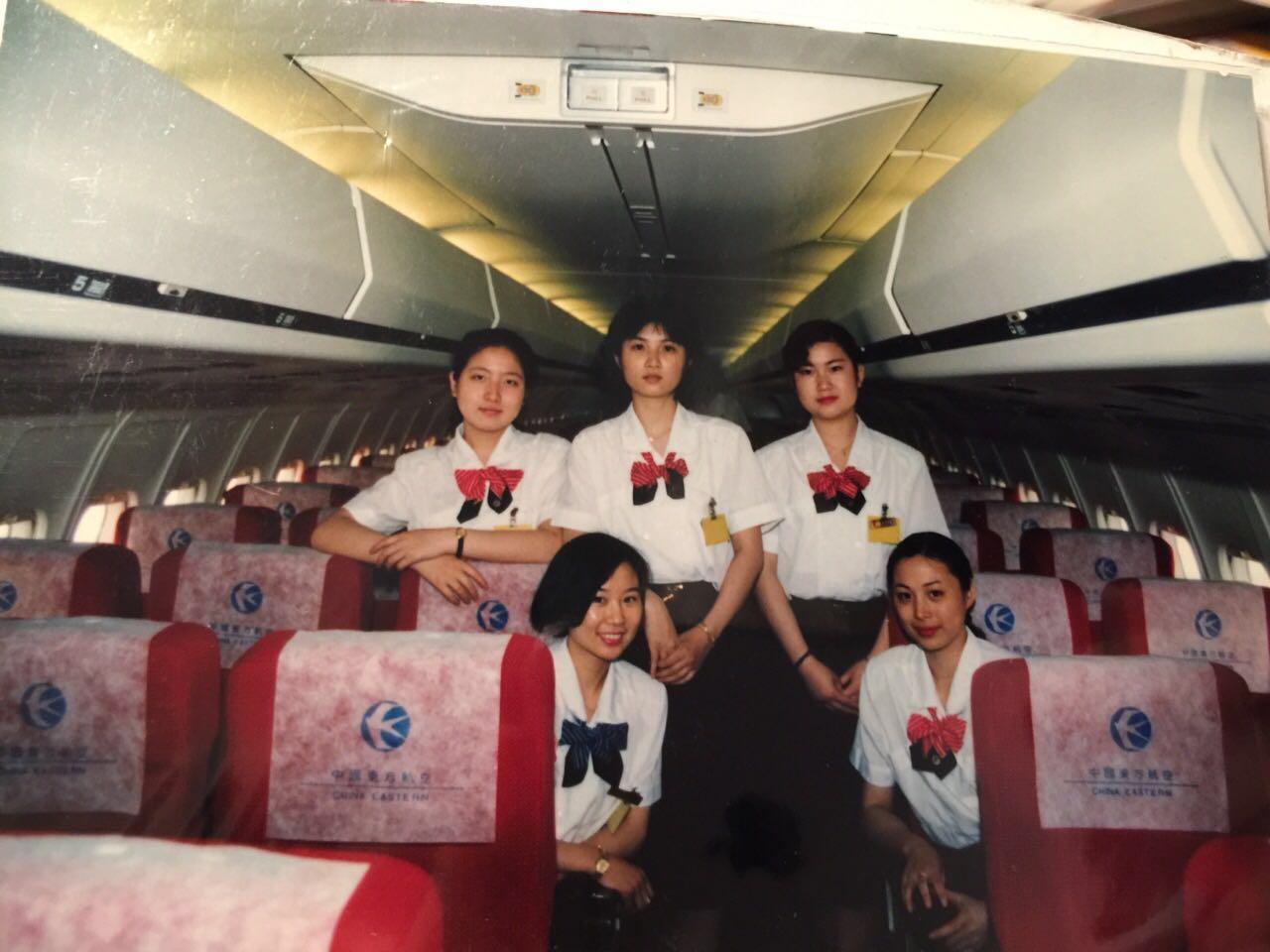 东航安徽分公司空姐告别三十年蓝天生涯