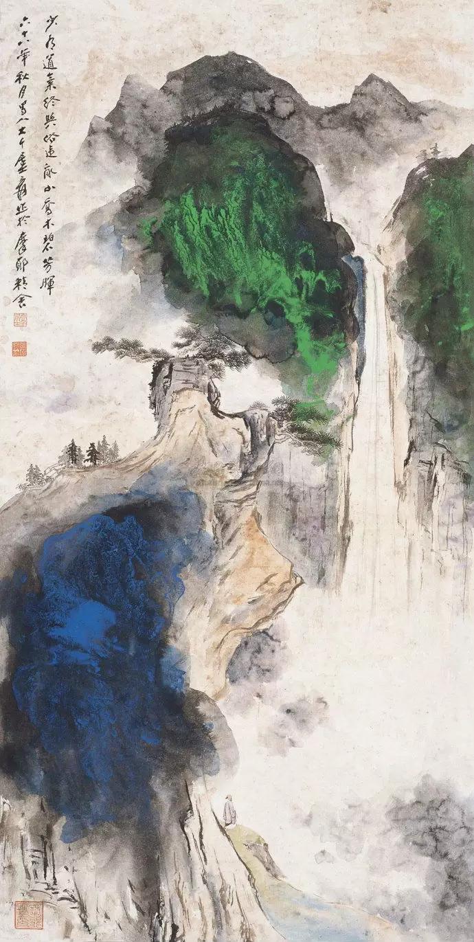 羊 抽象画