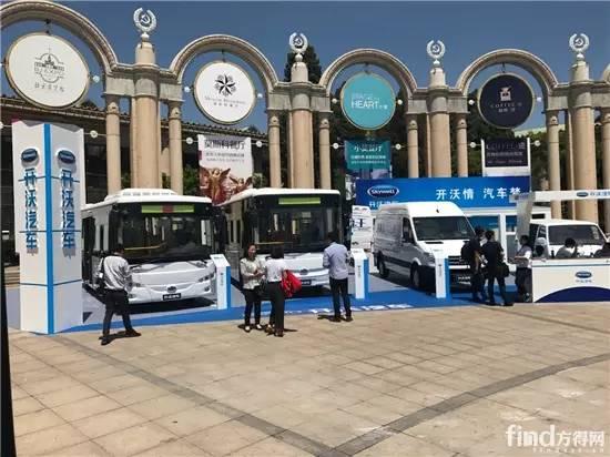 进入新能源汽车市场第一阵营,从道路运输展了解南京金龙2017的布局