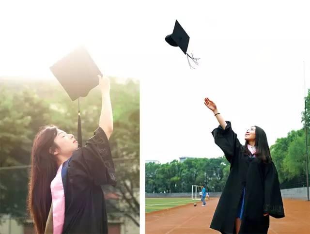— 个人 — 一般,拍毕业照,最常见的姿势有剪刀手,比心等.图片
