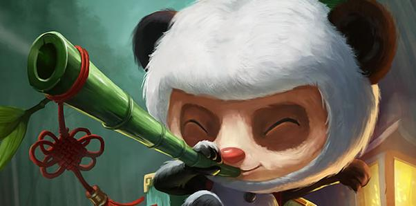 lol提莫熊猫皮肤特效图片