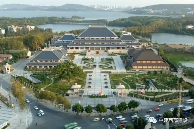 湖北省博物馆全景