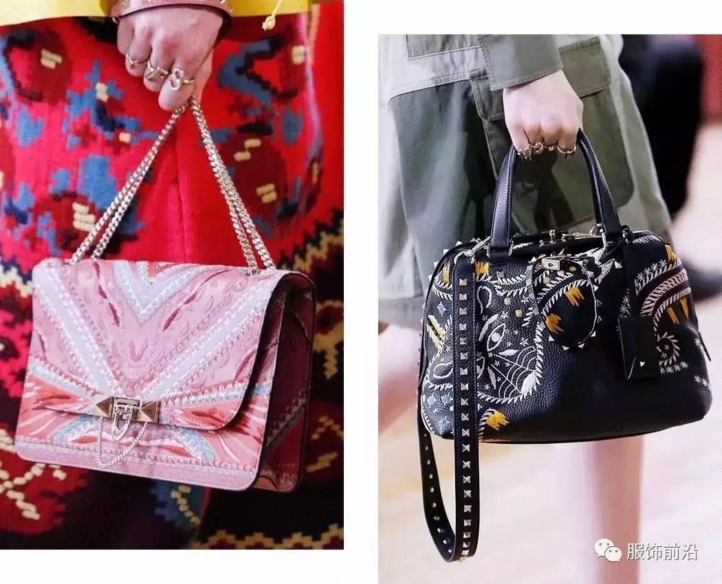 浪漫的印花、刺绣元素Valentino也照样有-美到窒息的Valentino