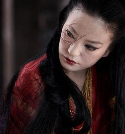 古装十大毁容桥段,赵丽颖最惨最后一张简直美哭