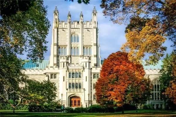 美国各州以及华盛特区最具代表性的美丽大学一览