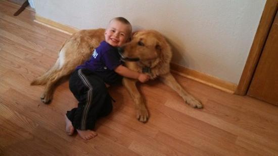 狗狗和小主人意外失踪,找到他们时看到暖心一幕