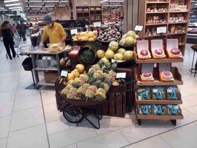 16 毛利率,平均损耗仅4 永辉超市商品创意陈列