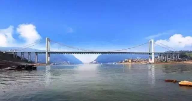 郭家沱长江大桥效果图-厉害了 重庆主城今年建设11座跨江大桥图片