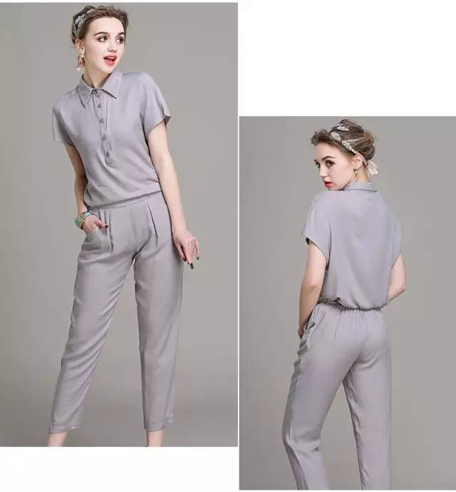 九分裤套装推荐款NO.3-夏天,这样穿九分裤比穿裙子好看几十倍