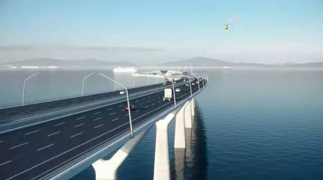 中通道 港珠澳大桥有望相连 珠海竟是最大受益者