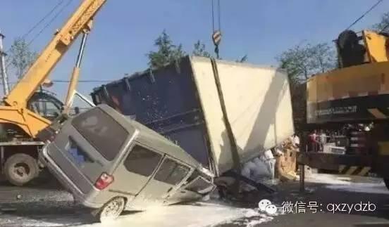 """真相  为什么大货车总是""""大祸车""""?怵目惊心!!"""""""