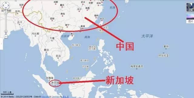 中国到新加坡地�_刚刚,新加坡悲催了!这就是得罪中国的下场