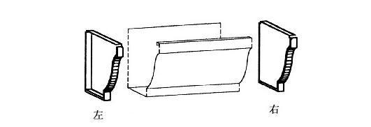 金属落水如何安装——摩勒彩铝安装手册(1)