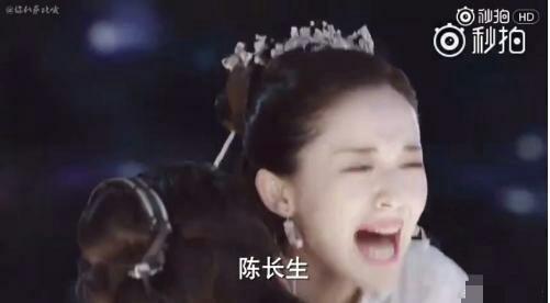 看到娜扎哭的如此声嘶力竭,还敢吐槽她没有演技吗