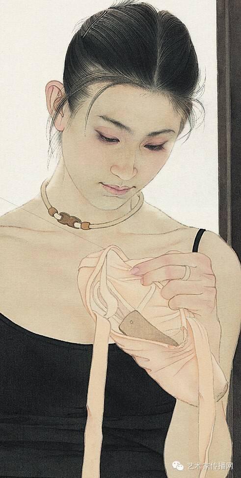 大胆人体艺术写真189_何家英最美作品专辑