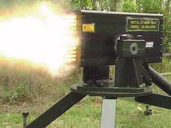 小国研制出恐怖武器 每分钟射速100万发 中国出1亿都不卖